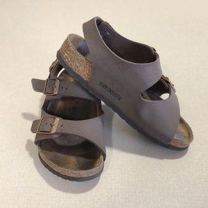 Birkenstock | Mocha Brown Roma Kids Sandals